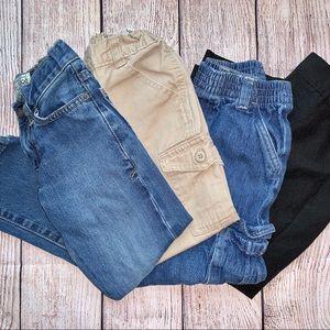 Boys Assorted Pants (Bundle of 4) Size 4T